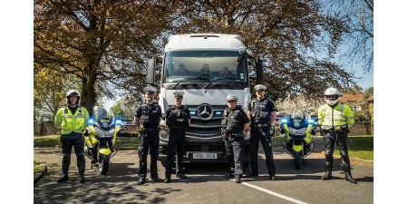 Unmarked HGV lorries are now patroling UK motorways